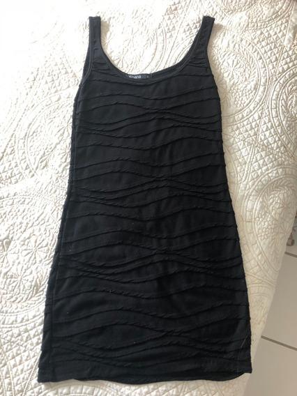 Vestido Tubinho Preto - Marca Espanhola Shana