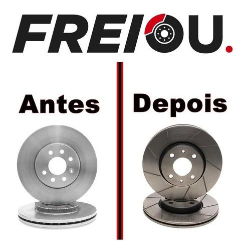 Disco De Freio Slotado Dianteiro Para Infiniti  Fx35, Fx45,
