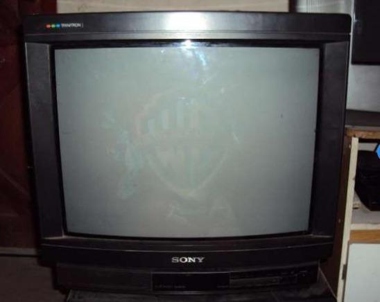 Tv Sony Trinitron 21 Pulgadas,ideal Juegos Retro Excelente I