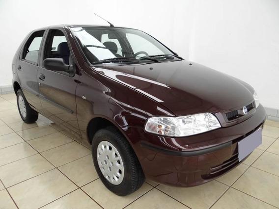 -- Fiat Palio Ex 1.0 Five 8v Gasolina 4p 2002 Vermelho 011