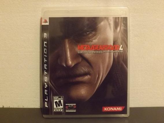 Ps3 Metal Gear Solid 4 - Completo - Aceito Trocas...