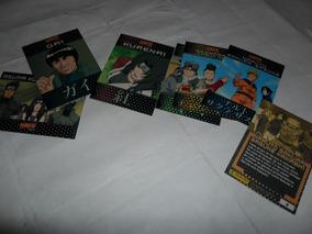 Lote 7 Cards - Naruto Sakura Sasuke Kakash1 - Panini