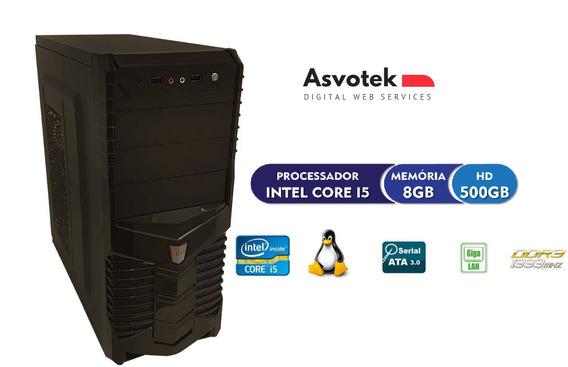 Cpu Pc Intel Core I5 8gb Hd 500 Asvotek
