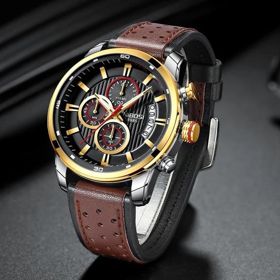 Relógio Nibosi Modelo 2372 Original Frete Grátis