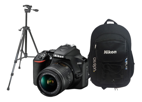Nikon Reflex D3500 Kit 18-55mm+mochila Nikon Original+ 32gb