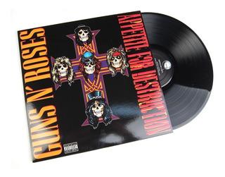 Guns N Roses - Appetite For Destruction Vinilo Lp Acetato