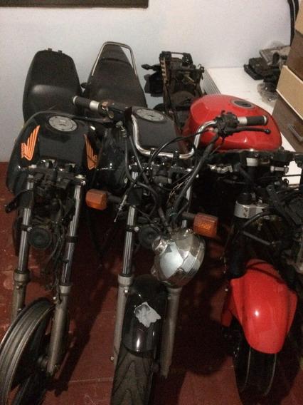 Lote De 4 Moto Para Utilizar Peças