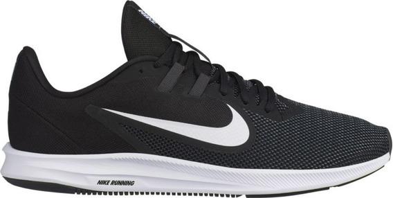 Tenis Nike Masculino Downshifter 9 Pto/bco