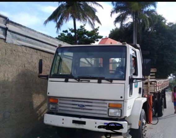 Caminhão Munck Cargo 1415 2000 12,5 T A/c Carro Passeio