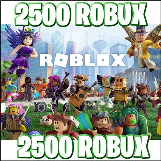2500 Robux @ Roblox - Entrega Inmediata! :)