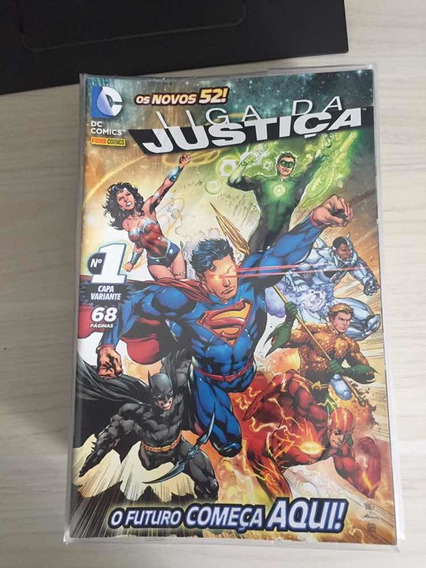 Liga Da Justiça Novos 52