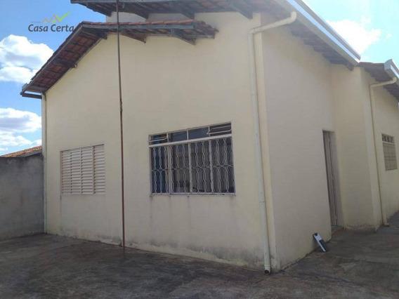 Casa Com 2 Dormitórios À Venda, 100 M² Por R$ 270.000 - Jardim Ipê V - Mogi Guaçu/sp - Ca1440