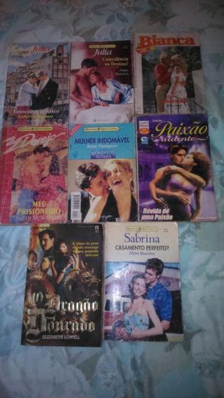 Lote Com 8 Livro Romances
