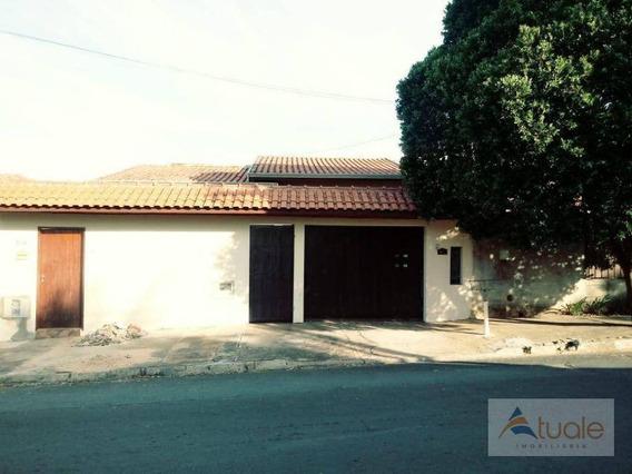 Casa Com 3 Dormitórios Para Alugar, 90 M² - Vila Real Continuaçao - Hortolândia/sp - Ca6400