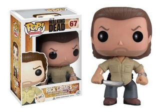 Funko Pop! Rick Grimes #67 Vaulted The Walking Dead Twd