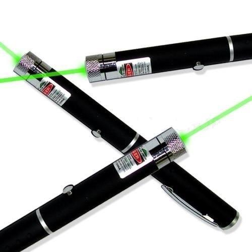 Kit 3 Caneta Laser Point Verde Apresentador Professor Escola