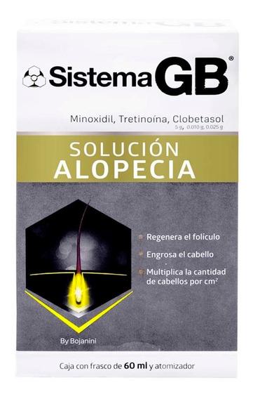 Sistema Gb Cuidado Caída Cabello 60 Ml Genomma Lab