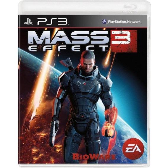 Mass Effect 3 Ps3 Mídia Física Pronta Entrega