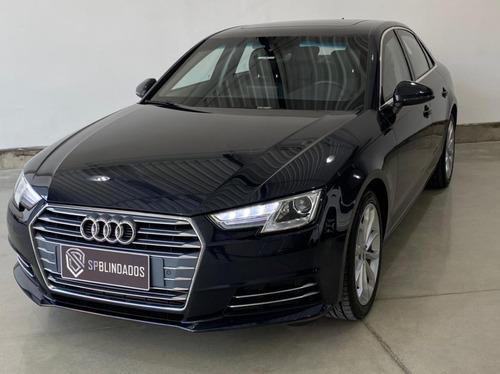 Audi A4 Ambiente 2018 Blindado Guardian Niiia Impecável