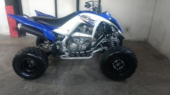 Yamaha Raptor 700r Año 2017 Color Azul Y Blanco