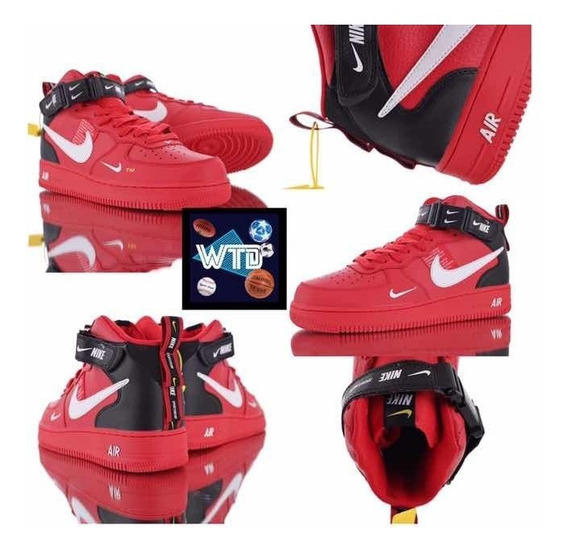 Air Force 1 Mid Utility Pack Red
