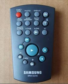 Controle Remoto Filmadora Samsung Brm-d2ae - Novo!