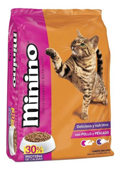 Alimento Minino gato todos los tamaños pollo/pescado 15kg