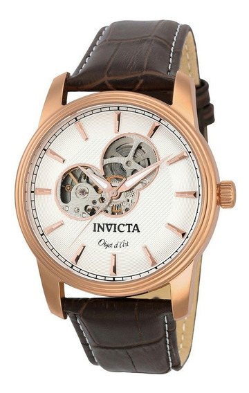 Relógio Invicta 22618 Objet D Art Original Eua