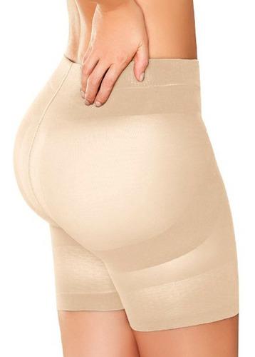 Faja Reductora Panty Short Levanta Cola Moldea Abdomen Gym