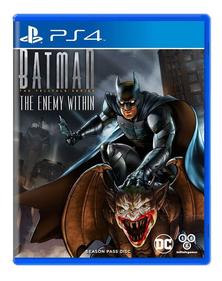 Batman The Enemy Within - Ps4 -midia Fisica Lacrado