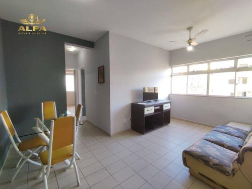 Imagem 1 de 12 de Apartamento A Venda Na Praia Das Astúrias, 2 Dormitórios Sendo 1 Suíte, 70 M² De Área Útil, 1 Vaga De Garagem. - Ap0776