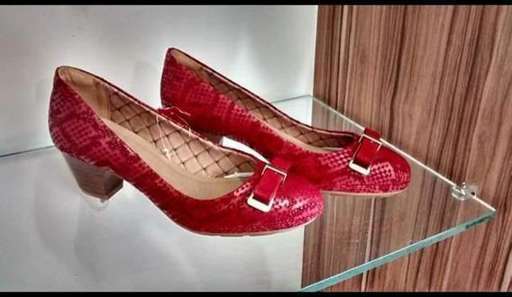 Sapato Feminino Bottero - Salto Médio