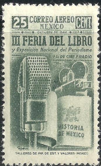 1944 Feria Del Libro Sc. C142 Mnh Micrófono Cámara Eppens