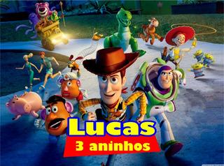 30 Rótulos Adesivo Personalizado Sacola De Papel, Toy Story