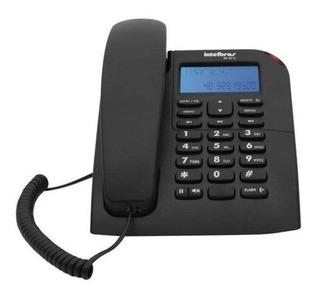 Telefone Fixo Com Fio Intelbras Tc60 Identificador Chamadas