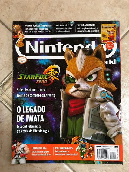 Revista Nintendo 192 Star Fox Zero Lego Jurassic World