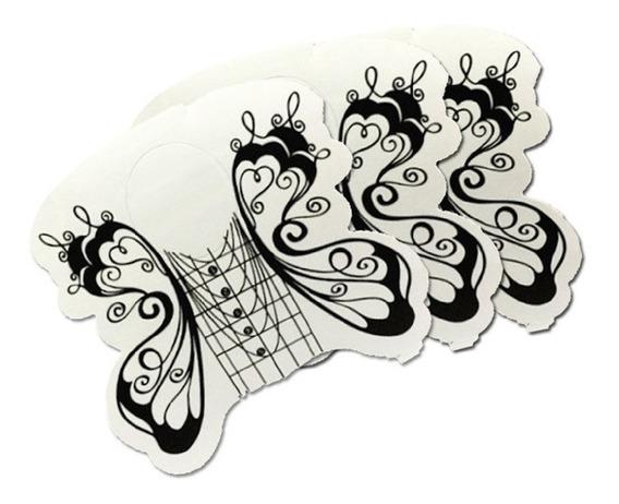 Moldes Mariposa Black Uñas Esculpidas