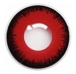 Lentes De Contacto Fantasia Modelo Red Anxius