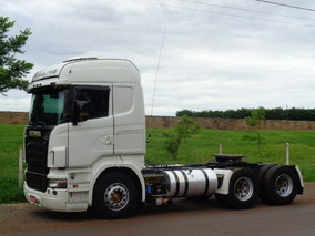 Scania R 420 Highline Ano:2009 6x4/unico Dono/com Retarder
