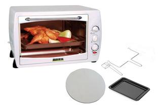 Horno Cocina Electrica 42 Lts Time 60 Min Bram Metal