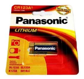 1 Bateria Pilha Cr123a 3v Lithium Photo Panasonic