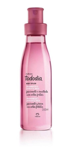 Spray Frambuesa Y Pimienta Rosa - Natura Tododia ( Splash)