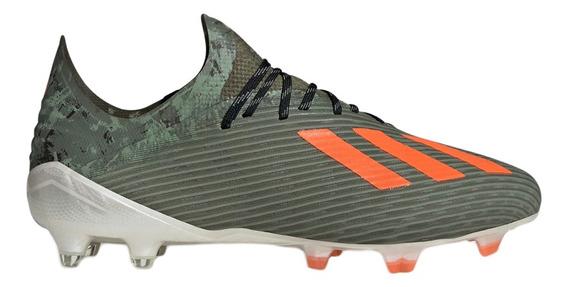 Botines Con Tapones adidas Futbol X 19.1 Fg Hombre Ol/na