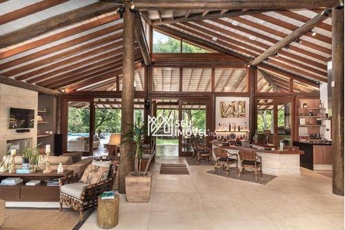 Casa Com 5 Dormitórios À Venda, 700 M² Por R$ 5.400.000,00 - Fazenda Vila Real De Itu - Itu/sp - Ca1474