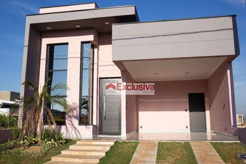 Casa À Venda, 130 M² Por R$ 680.000,00 - Residencial Terras Da Estância - Ala Dos Ipês - Paulínia/sp - Ca1915