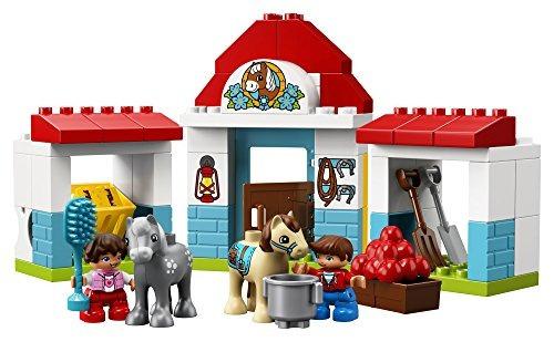 Lego Duplo Town Farm Pony Stable 10868 Building Kit (59 Piez