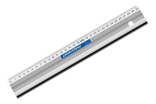 Regla De Aluminio Plantec 40 Cm Para Corte Y Medición Metal
