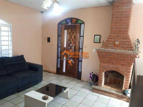 Imagem 1 de 17 de Chácara Com 2 Dormitórios À Venda, 1246 M² Por R$ 403.000,00 - Água Azul - Guarulhos/sp - Ch0016