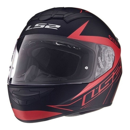 Casco Moto Integral Ls2 352 Rookie Dyno Rojo En Devotobikes