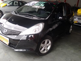 Honda Fit Dx 1.4 Preto Completo Flex 2013